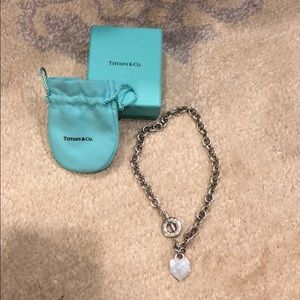 100% Authentic Tiffany & Co. S/S toggle necklace💙